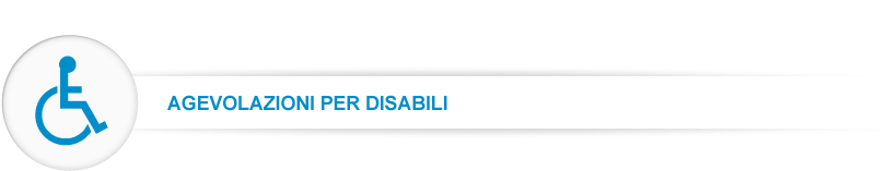 iva agevolata 4% disabili-portatori di handicap